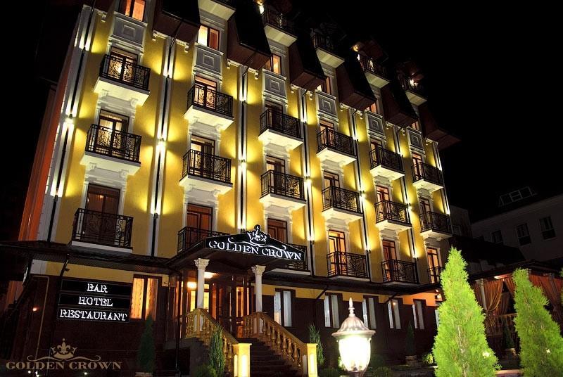 Отель Золотая Корона, Трускавец - Цены | Фото | Отзывы | Бронирование онлайн