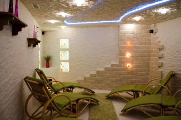 Отель ТуСтань - соляная пещера