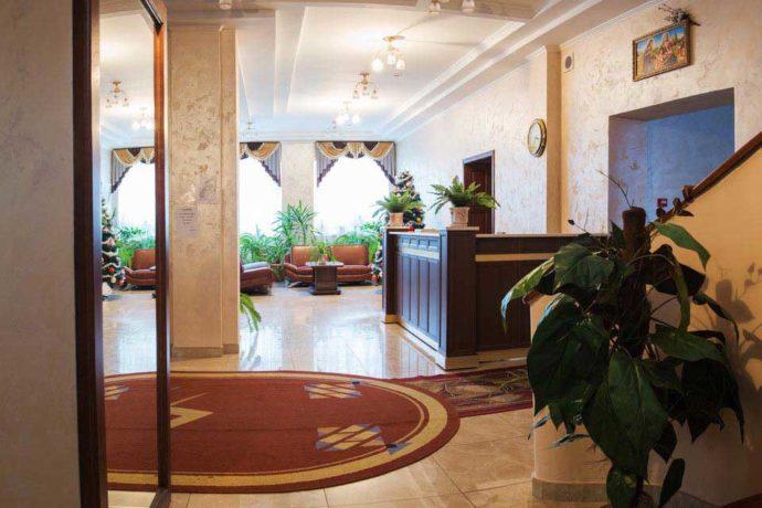 Санаторій Кришталевий Палац - рецепція