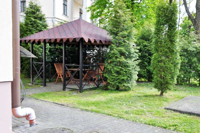 Villa Anastasia - terytorium