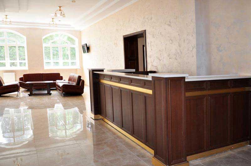 Санаторий Хрустальный Дворец - холл