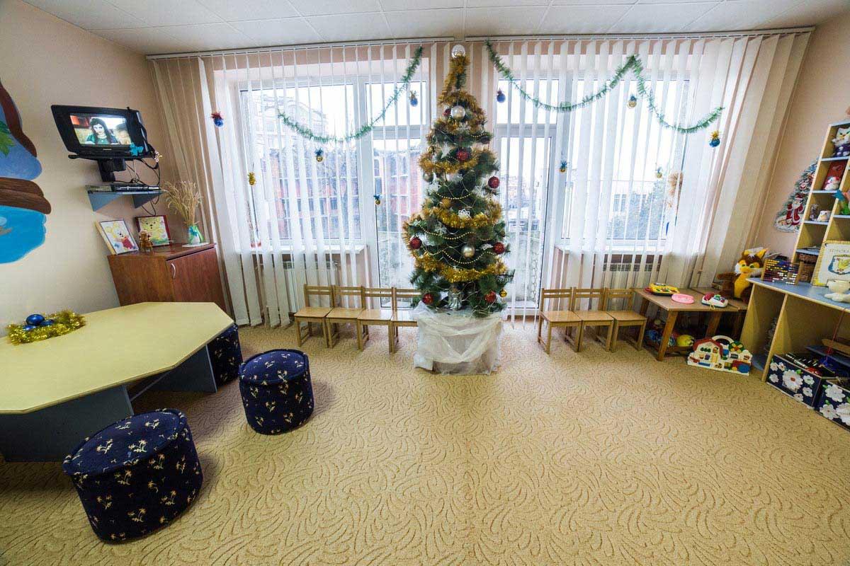 Детская комната в санатории Весна, Трускавец