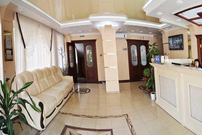 Отель Нафтуся - холл