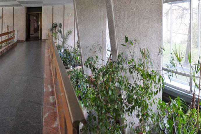 Санаторій Дніпро Бескид в Трускавці - зимовий сад