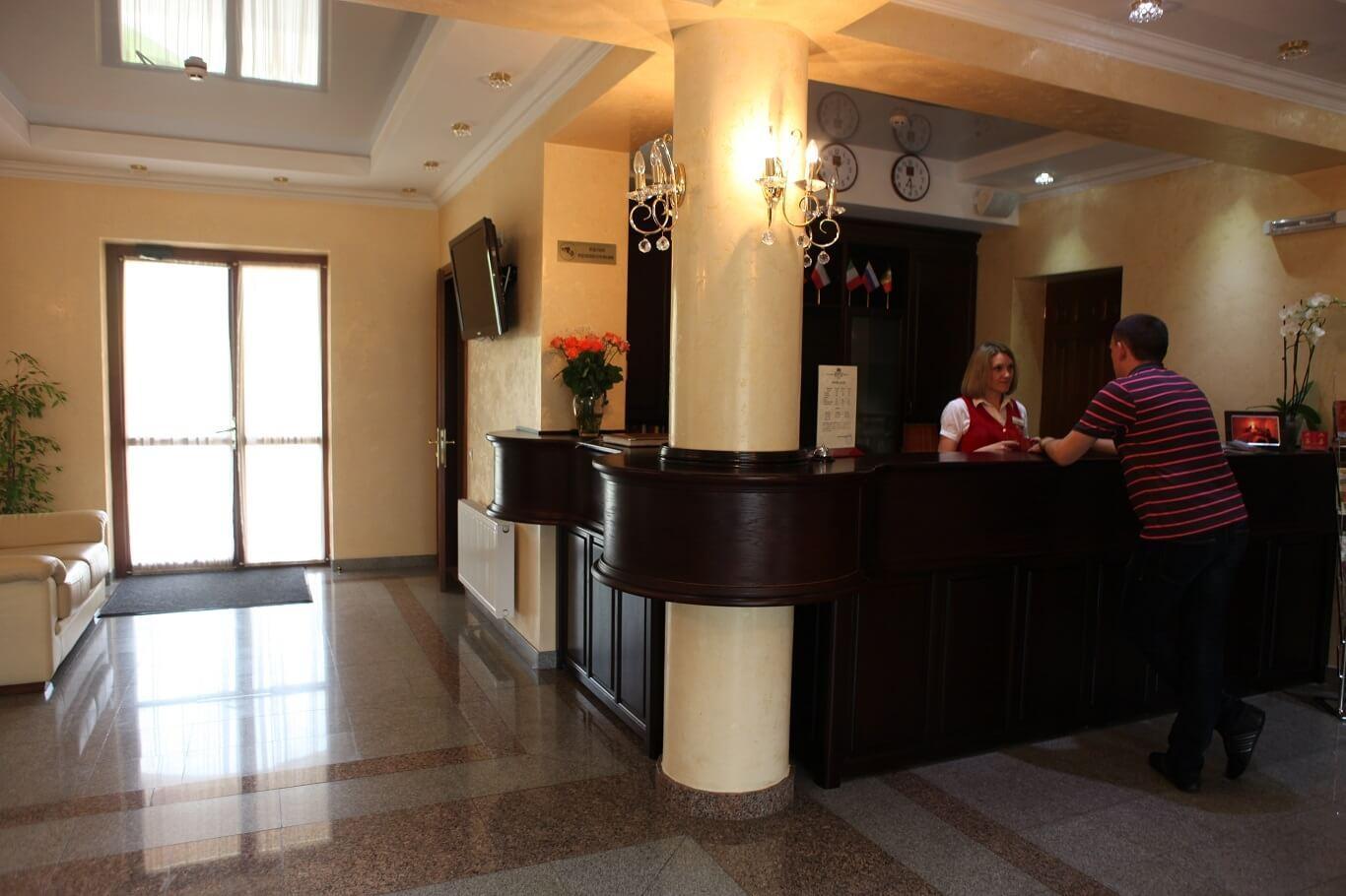 Отель Респект - рецепция