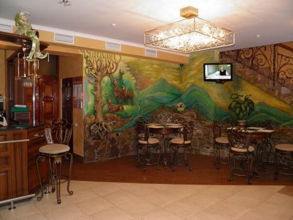 Сходница, отель Эдем - лобби бар