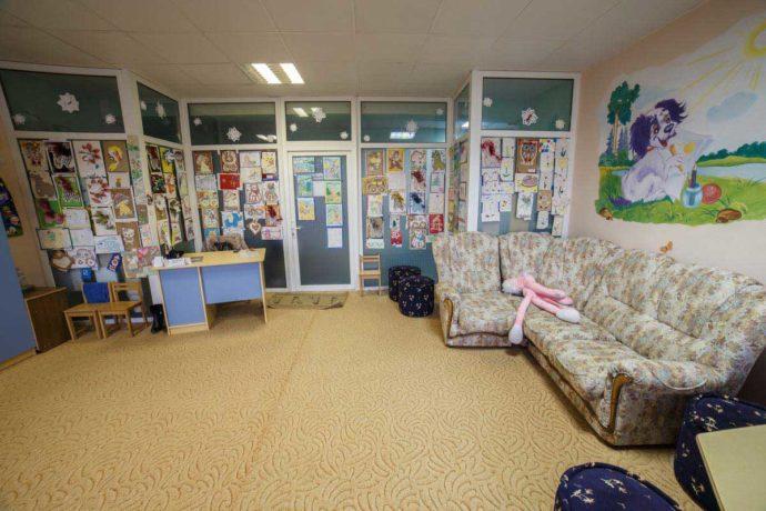 Санаторій Весна кімната для дітей