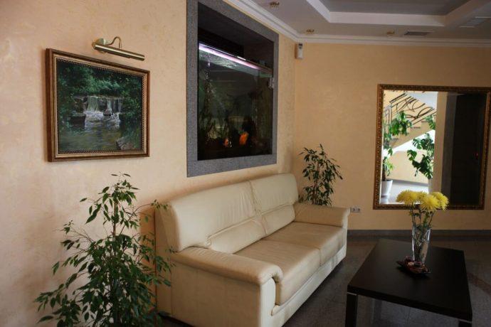 Східниця, Готель Респект - інтер'єр