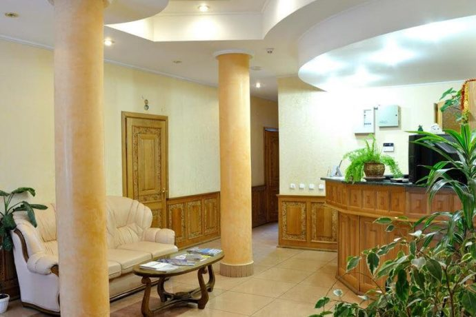 Отель Ориана в Трускавце - рецепция