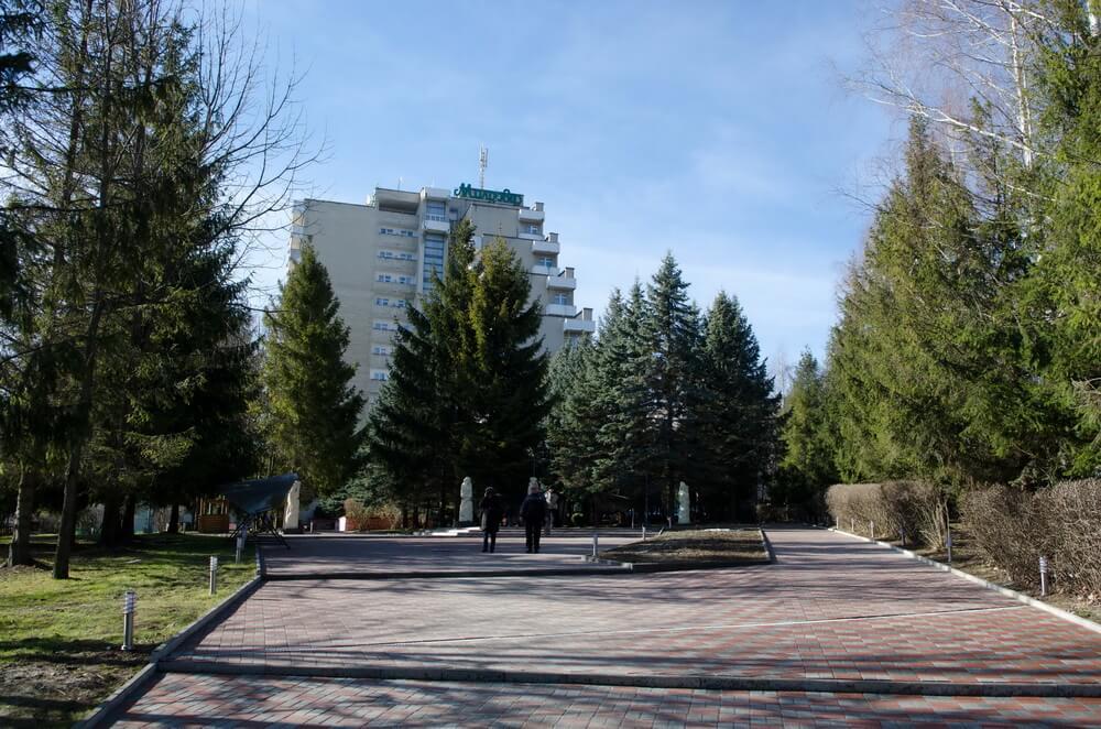 Санаторій Молдова, Трускавець