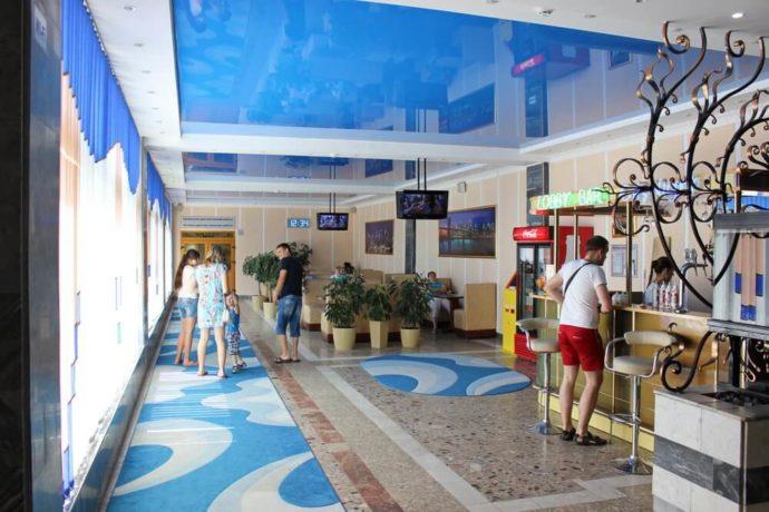 Lobby bar - uzdrowisko Mołdowa