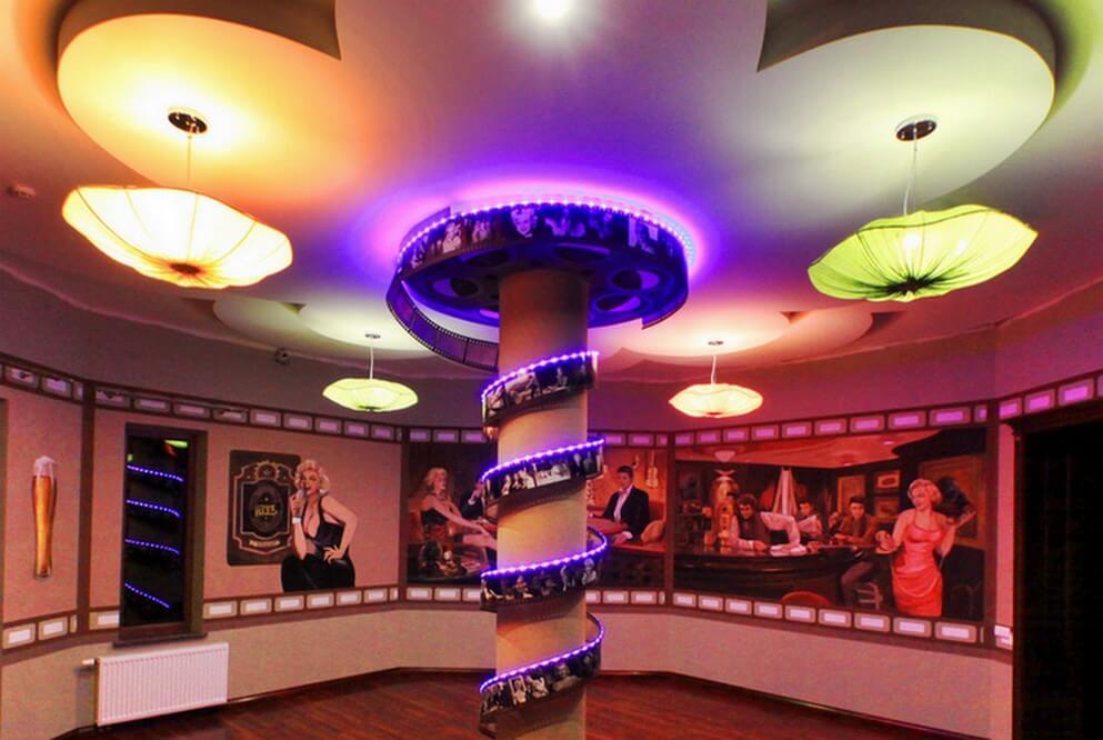 Танцевальный зал в лечебно-оздоровительном комплексе ДиАнна, Сходница
