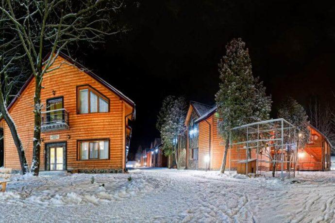 Санаторий Вернигора зимой
