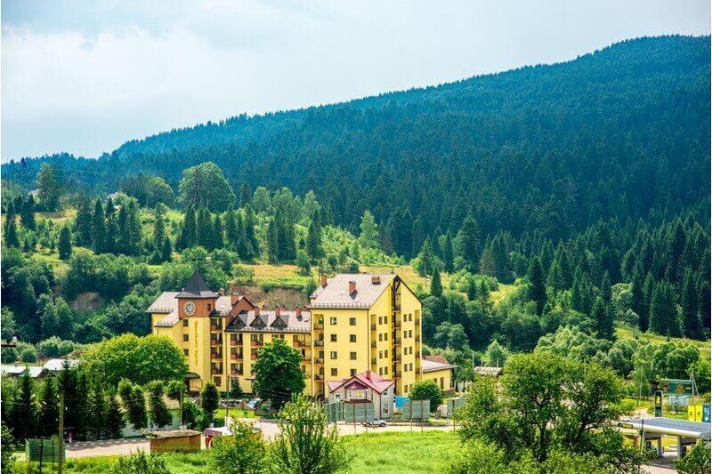 Отель Киевская Русь, Сходница - Цены | Фото | Отзывы | Бронирование онлайн