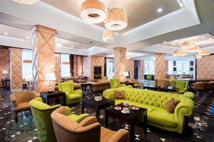 Гостиничный комплекс Три Сына и Дочь 5* - лобби бар