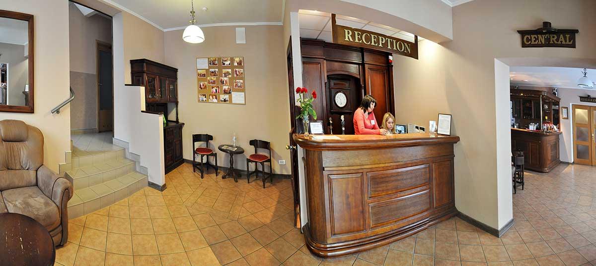 Рецепция в отеле Мариот, Трускавец