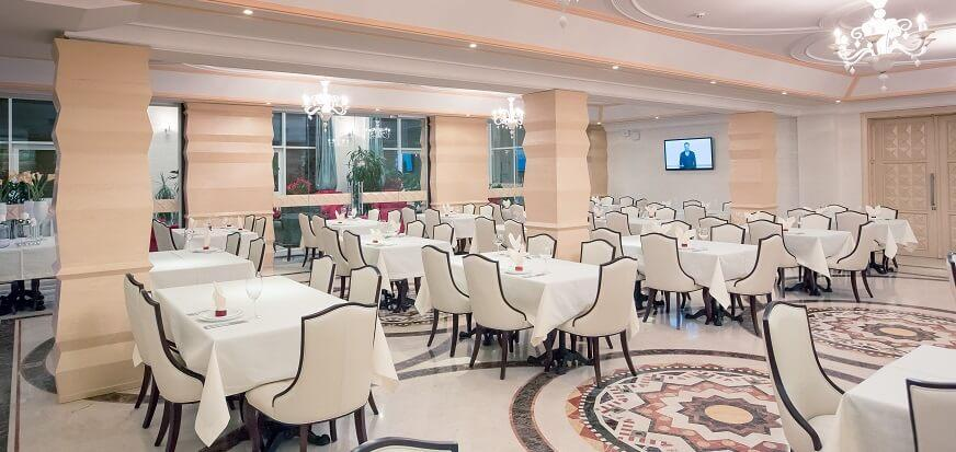 Ресторан в отеле ТуСтань, Сходница